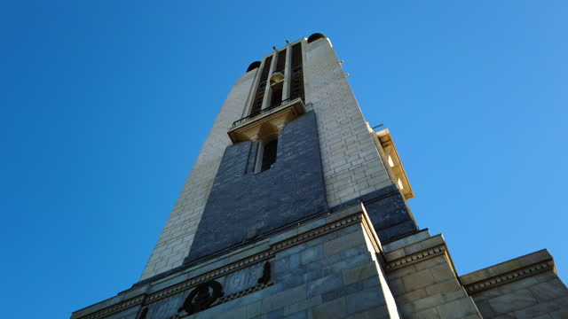 national war memorial in wellington - anzac day stock videos & royalty-free footage