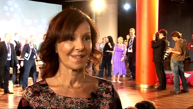 Nationwide dance for fitness campaign launched by Arlene Phillips Arlene Philips interview SOT On the new initiative / importance of dance / interest...