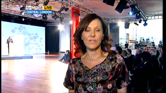 Nationwide dance for fitness campaign launched by Arlene Phillips ENGLAND London INT Arlene Phillips LIVE 2 WAY interview from Central London SOT On...