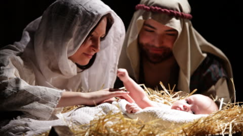 nativity scene - religion stock videos & royalty-free footage