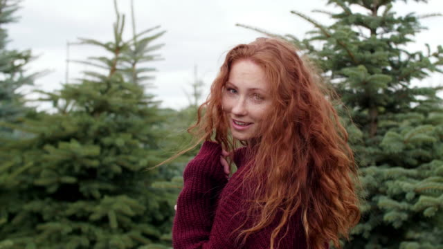 natural beauty/ debica/ poland - 赤毛点の映像素材/bロール
