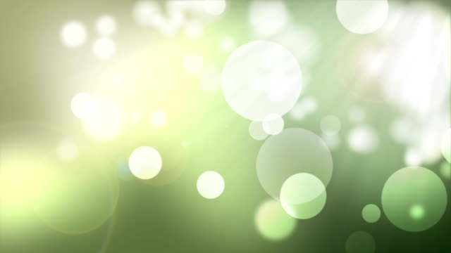 Natural bokeh green motion background