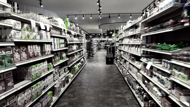 natural health food store - health food shop stock videos and b-roll footage