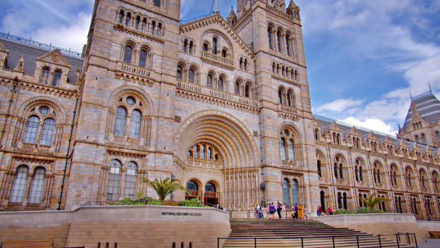 natural history museum. amazing architecture of london - arch stock videos & royalty-free footage