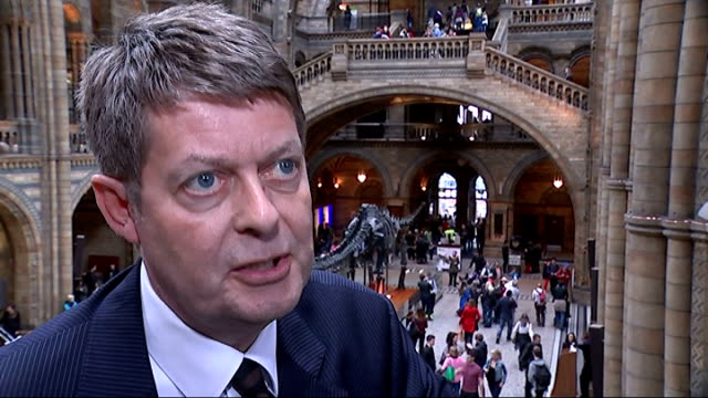 Natural History Museum receives biggest ever donation ENGLAND London Natural History Museum Roof of Central Hall of Natural History Museum TILT DOWN...