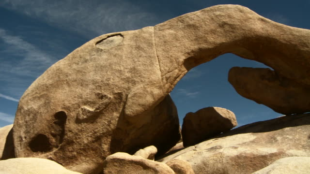 natural rock arch - natural arch stock videos & royalty-free footage