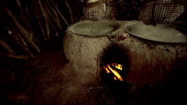 Natural Salt Boiling at Boklua