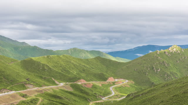 t/l natural scenery of the qinghai-tibet plateau - tibetan plateau stock videos & royalty-free footage