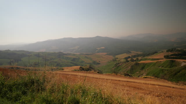 natural tuscan landscape - tuscany stock videos & royalty-free footage