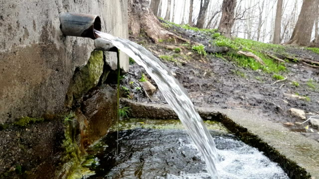 nature and fountain - groundwater stock videos and b-roll footage