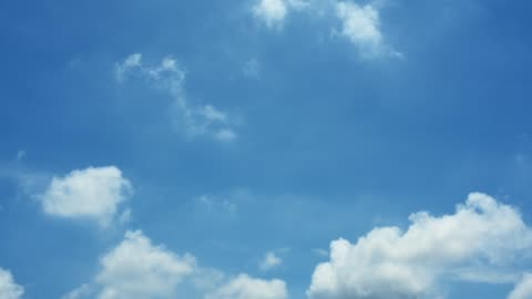 nature background - blue sky with clouds - clear sky stock videos & royalty-free footage
