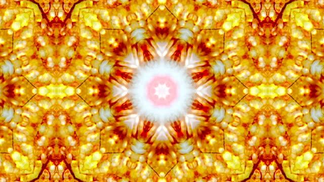 Nature kaleidoscope pattern