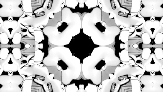 nature kaleidoscope pattern - kaleidoscope pattern stock videos & royalty-free footage
