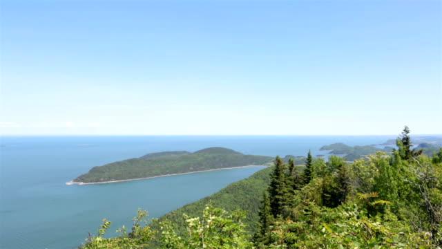Nature Landscapes of Bic National Park, Quebec, Canada