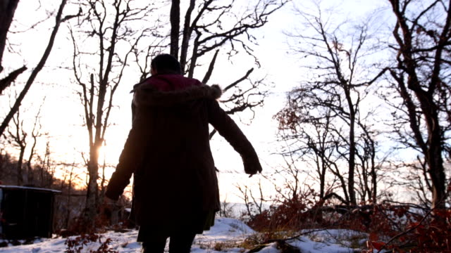 nature lover - ventenne video stock e b–roll