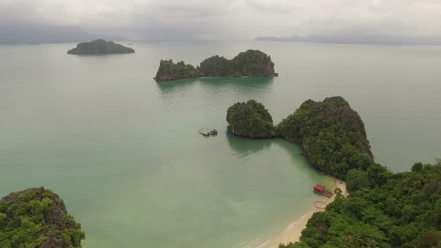 nature scenery in langwaki, malaysia - langkawi stock videos and b-roll footage