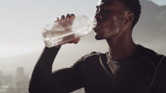 nature's number one workout fuel - refreshment stock videos & royalty-free footage