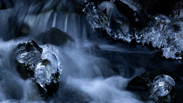 Nature-scape Cinemagraphs - Ice and flowing water