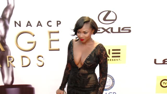 Naturi Naughton at 47th Annual NAACP Image Awards at Pasadena Civic Auditorium on February 05 2016 in Pasadena California