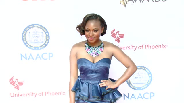 stockvideo's en b-roll-footage met naturi naughton at the 46th annual naacp image awards arrivals at pasadena civic auditorium on february 06 2015 in pasadena california - pasadena civic auditorium