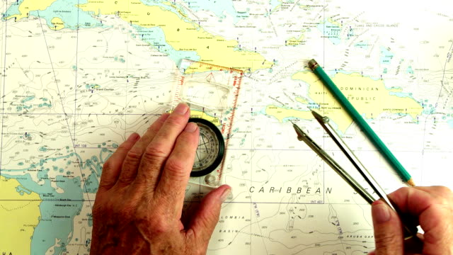 nautical navigation - guidance stock videos & royalty-free footage
