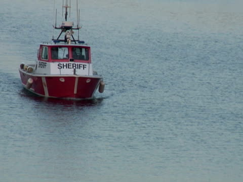 nautical sheriff - police boat stock videos and b-roll footage