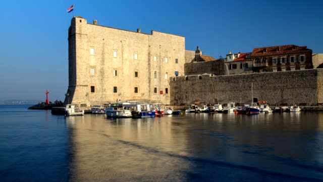 nautical vessel and dubrovnik - adriatic sea stock videos & royalty-free footage