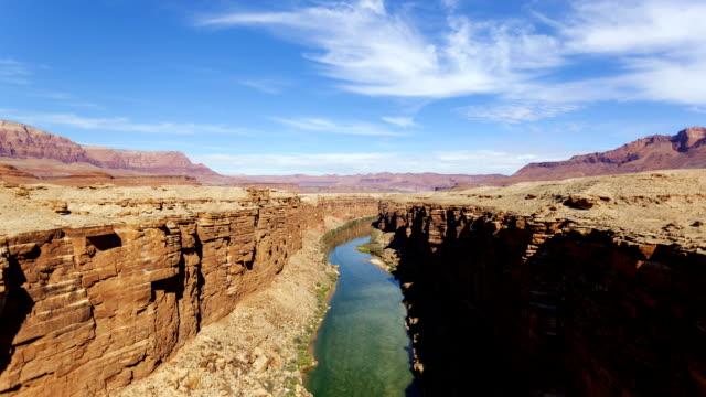 navajo bridge - river colorado stock videos & royalty-free footage