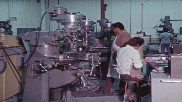 navajo factory workers - toolbox stock videos and b-roll footage