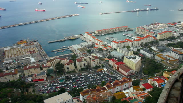 Naval base and harbour.