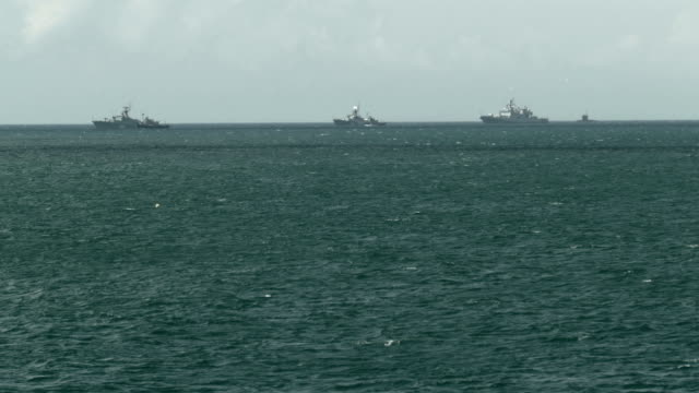 marina övningar - militära fartyg bildbanksvideor och videomaterial från bakom kulisserna