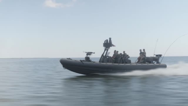 Naval Special Warfare Combatant Craft Crewmen operating and training in Mississippi and San Diego