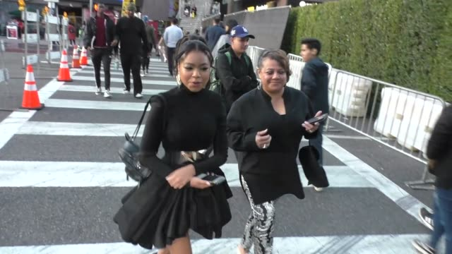 navia robinson arrives at the maleficent: mistress of evil premiere at el capitan theatre in hollywood in celebrity sightings in los angeles, - el capitan theatre stock videos & royalty-free footage
