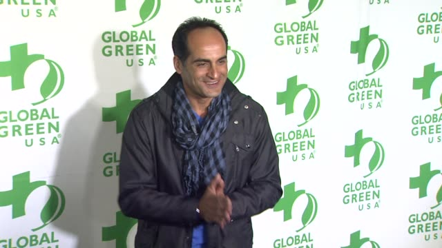 Navid Negahban at Global Green USA's 10th Annual PreOscar Party on 2/20/13 in Los Angeles CA