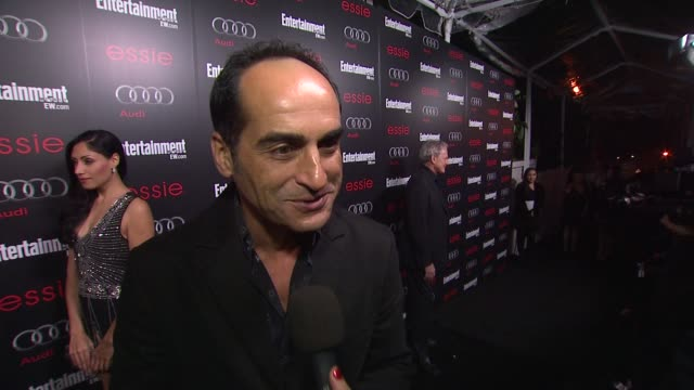 INTERVIEW Navid Negahban on the show on awards season on the SAG Awards at Entertainment Weekly Hosts Celebration Honoring the Screen Actors Guild...