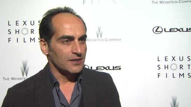 interview navid negahban on what the phrase life is amazing means to him why its important to have twc lexus support emerging filmmakers what advice... - short phrase stock videos and b-roll footage