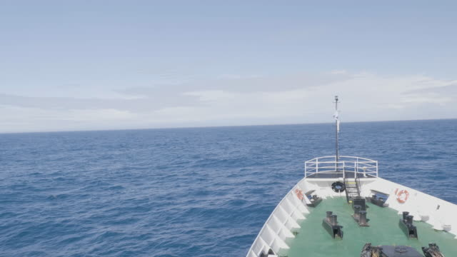 navigating the drake passage in the way to the antarctica - drake passage stock videos and b-roll footage