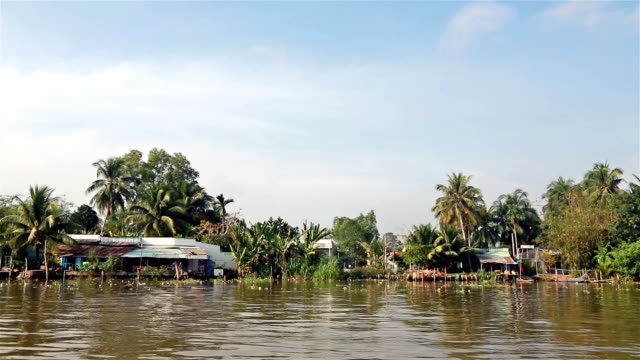 navigating the mekong delta - south vietnam stock videos & royalty-free footage