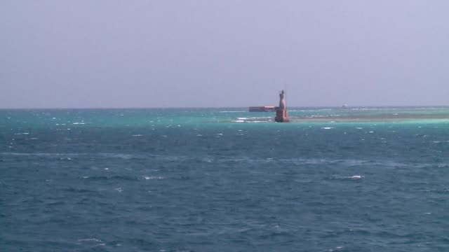 navigation point on red sea - red sea stock videos & royalty-free footage