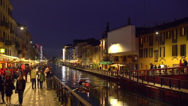 Naviglio Grande Canale a Milano