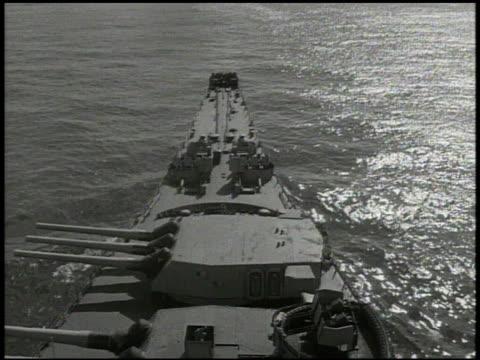s navy 3rd fleet battleships at sea pacific ocean int vs fleet admiral william 'bull' halsey jr talking w/ officers in intelligence room world war ii... - william halsey stock-videos und b-roll-filmmaterial