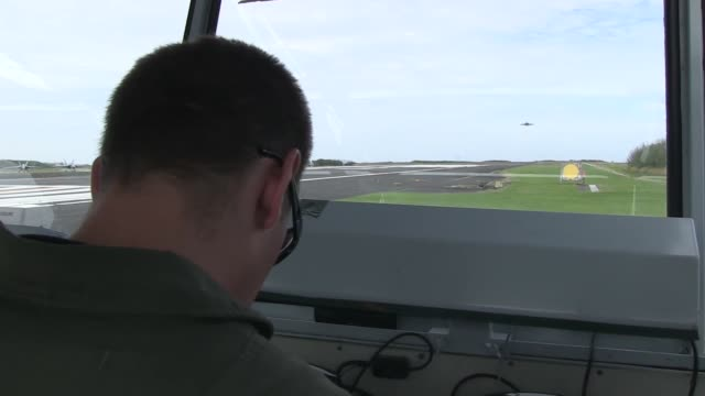 navy aviators from carrier air wing 5 who deploy with the aircraft carrier uss george washington participate in flcp on iwo to japan the island... - iwo jima island stock videos and b-roll footage