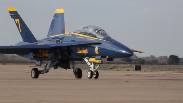 US Navy Blue Angel pilots flew to Marine Corps Air Station Miramar Feb 26 Col John Farnam MCAS Miramar commanding officer and Sgt Maj Richard Charron...