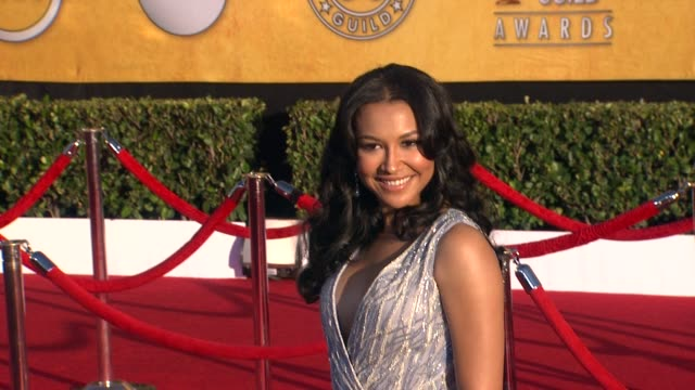 Naya Rivera at 18th Annual Screen Actors Guild Awards Arrivals on 1/29/2012 in Los Angeles CA