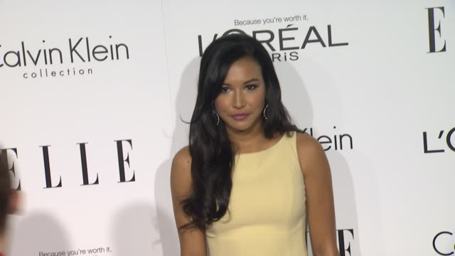 naya rivera at 19th annual elle women in hollywood celebration on in beverly hills ca - naya rivera stock videos and b-roll footage