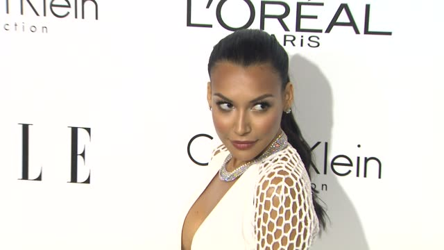 naya rivera at 20th annual elle women in hollywood in beverly hills ca on 10/21/13 - naya rivera stock videos and b-roll footage