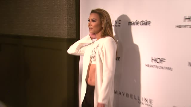 naya rivera at marie claire celebrates may cover stars in los angeles ca - naya rivera stock videos and b-roll footage