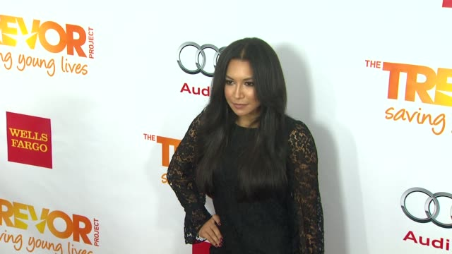 naya rivera at the trevor project's 2012 'trevor live' honoring katy perry on 12/2/12 in los angeles ca - naya rivera stock videos and b-roll footage