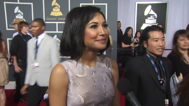 naya rivera on glee receiving a nomination who she would like to see the show cover if she has bieber fever after its episode on glee what... - naya rivera stock videos and b-roll footage