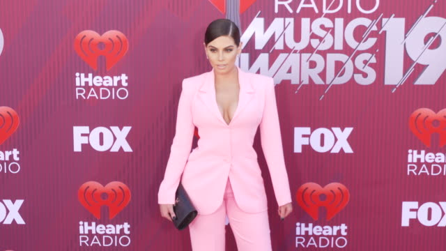 Nazanin Kavari at the 2019 iHeartRadio Music Awards at Microsoft Theater on March 14 2019 in Los Angeles California